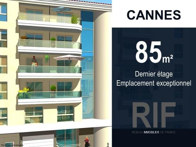 Achat appartement cannes immobilier cannes 06400 6503461 for Achat maison cannes