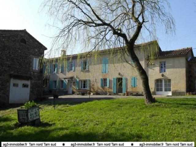 Achat maison teillet immobilier teillet 81120 13786806 for Achat maison 21
