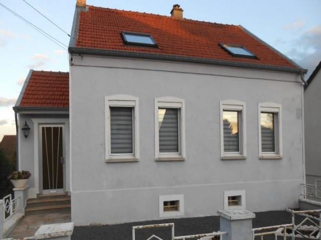 Achat maison hambach immobilier hambach 57910 16249866 for Vente achat maison