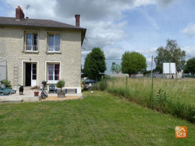 Achat maison laon immobilier laon 02000 14614436 for Achat maison picardie