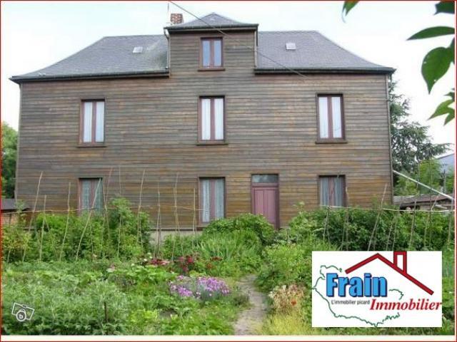 Achat maison meigneux immobilier meigneux 80590 16419304 for Achat maison picardie