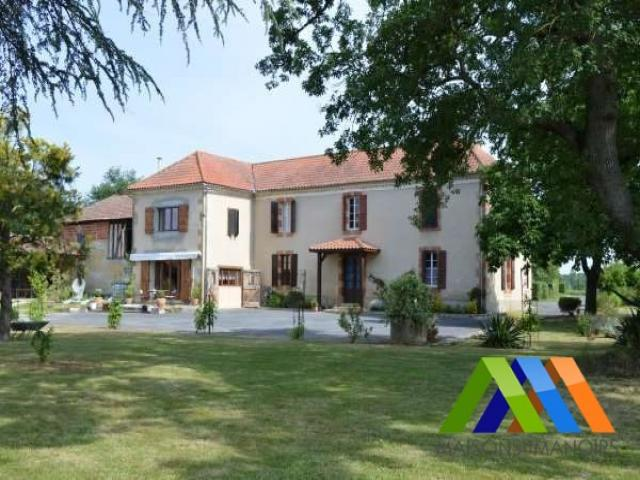 Achat maison mirande immobilier mirande 32300 16419853 for Achete maison