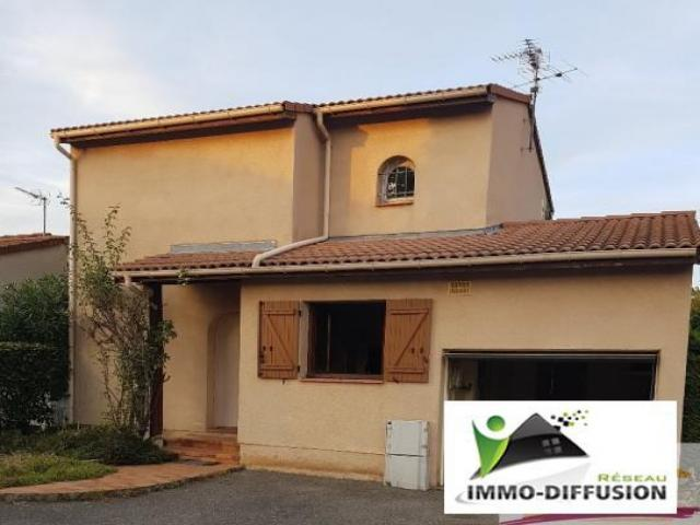 Achat maison toulouse immobilier toulouse 31000 15551242 for Achat maison toulouse